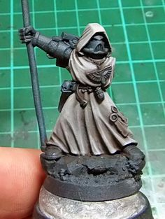 Tale of Painters: Tutorial: How to paint Dark Angels' Robes