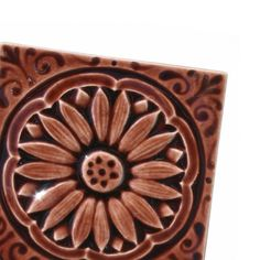 Hey, I found this really awesome Etsy listing at http://www.etsy.com/listing/159448733/daisy-3x3-handmade-ceramic-tile-for