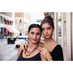 Mother and daughter on the streets of Milan, Italy, a few weeks ago. Caterina, the daughter, started to dance when she was 3 years old.