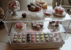 mini bakery display case