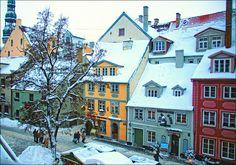 Riga, Latvia  Like a little story book.