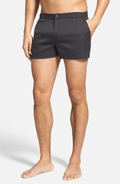 Parke & Ronen 'Angeleno - Houston' Solid Swim Trunks available at #Nordstrom