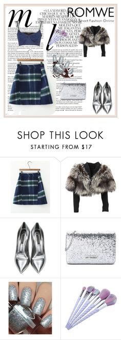 """""""romwe"""" by mehmed-1 ❤ liked on Polyvore featuring Whiteley, Lolita Lempicka, Casadei, Love Moschino and Dimepiece"""