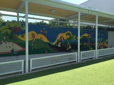 Magnetic mural for elementary school by Jelena Opacic