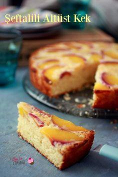Şeftalili Altüst Kek Peach Upside Down Cake Banana Dessert Recipes, Healthy Dessert Recipes, No Bake Desserts, Cake Recipes, Casserole Recipes, Bread Recipes, Healthy Cake, Healthy Baking, Peach Upside Down Cake