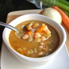 Crock Pot Navy Bean Soup
