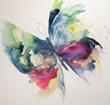 BUTTERFLY Watercolor Print by