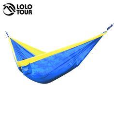 320*200cm Ultra Large 2 3 People Sleeping Parachute Hammock Chair Hamak Garden Swing Hanging Outdoor  Hamacas Camping 125*78'' -in Hammocks from Furniture on Aliexpress.com | Alibaba Group