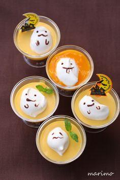 ★お菓子レシピ★ ハロウィン仕様のマンゴープリン| ウーマンエキサイト みんなの投稿