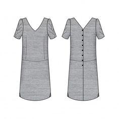 Blousette Rose - robe Pachira - patron PDF : 10€