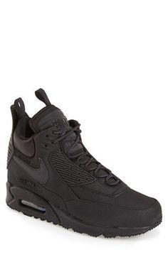 Nike 'Air Max 90 Winter' Sneaker Boot (Men) #sneakerswinter