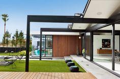 Backyard, Henbest Residence by Robert Sweet