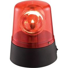 Ibiza LED Mini Red Beacon Battery Police Light Effect DJ Disco Lighting in Sound & Vision,Performance & DJ Equipment,Stage Lighting & Effects   eBay