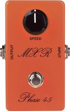 MXRCustom Shop CSP105 Vintage '75 Phase 45 Phaser Guitar Effects Pedal