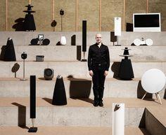 """""""The Cube"""", Bang & Olufsen's speaker-measurement room"""