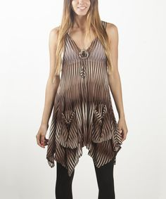 Take a look at this Brown Pocket Cover-Up I bought at zulily today!