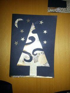 Weihnachtsbaum goldener Scherenschnitt 1 Flag, Country, Logos, Art, Papercutting, Christmas Tree, School, Creative, Art Background