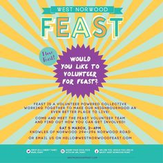 Westnorwood Feast - I Love Feast