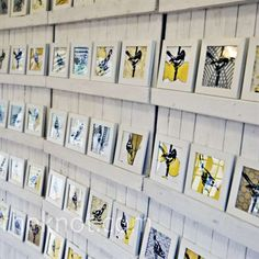 Bird Escort Cards