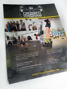 CrossFit Hingham Promotional Flyer on Behance