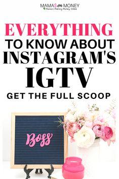 Resource for Make Money Mamas Instagram Feed, Make Money From Home, How To Make Money, Online Marketing, Social Media Marketing, Earn Money Online, Mom Blogs, Social Media Tips, Blog Tips