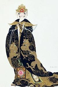 En 1924, Umberto Brunelleschi, créateur de nombreux costumes de scène pour Joséphine Baker, habille d'or, de nuit et dragons la Turandot à laquelle Puccini travaillait encore le jour de sa mort.