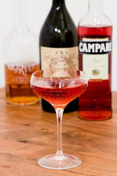 The 9-Bottle Bar Recipe: The Boulevardier