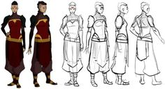 everything's going to be daijoubu The Last Airbender Characters, Avatar Characters, Character Model Sheet, Character Art, Avatar Ang, Character Turnaround, Avatar Picture, The Last Unicorn, She Is Clothed