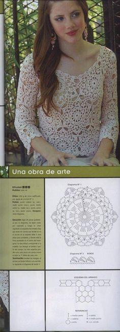 Blusa patchwork