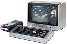 "TRS-80 -- the model that came to be known as the ""Model I"", though we had no idea of that at the time."