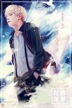 """I'm in love with this so much oml """"Breathe or Dream."""" – Intro:화양연화 Sugafanart... : f a l l e n ♤ l e a v e s;"""