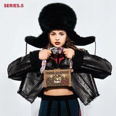 Selena Gomez pour Louis Vuitton, #photoshoot