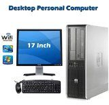 Online Exclusive Sale !!! HP dc7800 SFF Desktop Computer PC – Intel Core 2 Duo 2.33GHz Processor -160GB HDD – 4GB RAM – DVD ROM – Windows 7 Professional 64 Bit – USB Wi-Fi Adapter + 17 Inch Monitor( Any Brand)  by HP  Date first available at Amazon.ca: March 10 2016   1 used & new from CDN$ 119.99