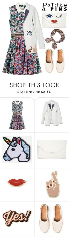 """Patch It, Pin It, Perfect!"" by oliverab ❤ liked on Polyvore featuring Mary Katrantzou, Hipstapatch, Style & Co., Georgia Perry, Anya Hindmarch and patchesandpins"