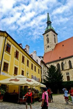 Old Town Bratislava, Slovakia - The perfect stopover along the Danube between Vienna and Budapest #travel #europe #bratislava #slovakia #smalltowns