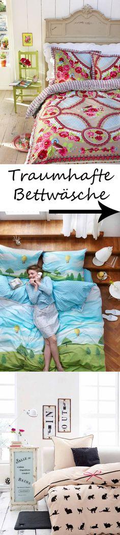 Wie man sich bettet, so schläft man - und mit diesen Textilien-Träumen geht das erholsam und vor allem stilvoll. Wir zeigen schöne Bettwäsche-Sets >>>