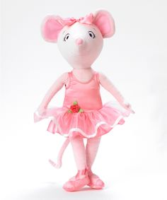 Angelina Ballerina Cloth Doll will have to remember to check zulilly come christmas time!
