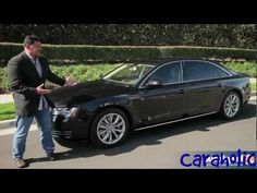 Our employee; Steve Jackins, introducing the Audi A8.