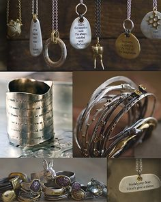 Jewellery symbols from Norwegian Björg