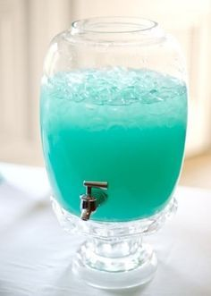 Blue Punch - Blue Hawaiian punch, lemonade, & sprite is this it? (blue punch drink) - My WordPress Website Country Time Lemonade, Tiffany E Co, Tiffany Party, Tiffany Theme, Tiffany Blue Punch, Tiffany Blue Drinks, Tiffany Blue Decorations, Tiffany Sweet 16, Tiffany Birthday Party
