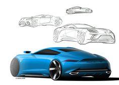 Porsche concept on Behance