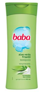 Baba Aloe vera Testápoló Aloe Vera