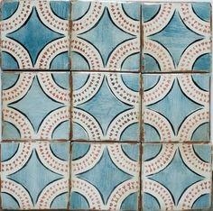 terra cotta tile backsplash | Terra Cotta Backsplash Tile | Magreb 16 | Off White- Charcoal- Royal ...