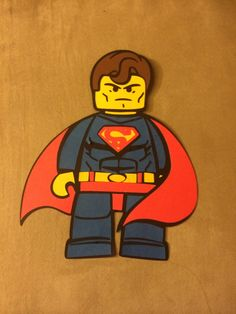 Superman lego svg