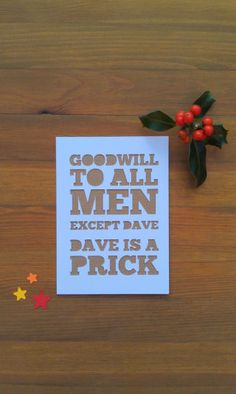 14 Christmas cards that have undiagnosed anger issues