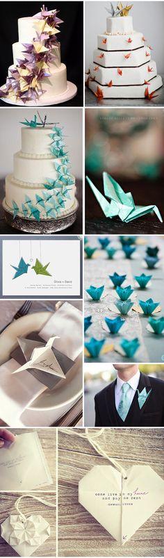 Ideias Origami – Origami Wedding Ideias