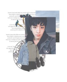 """""""'hey!wanna date?' [Wooseok Pentagon]"""" by jeon-woonie ❤ liked on Polyvore featuring Fuji, MARC CAIN, Y/Project and NIKE"""