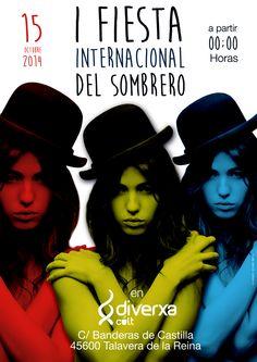 Cartel fiesta del sombrero 2014
