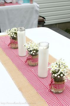 table decorations for month of may - Google Search