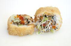 Ebi Ten Maki Frito.Kimoshi. Restaurante Japonés en Alicante